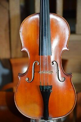 Old French Violin Gustave VILLAUME 1928, good condition