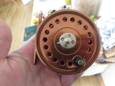 rare vintage millwards millward flycraft junior trout fly fishing reel ..