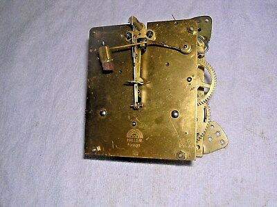 CLOCK  PARTS , CLOCK MOVEMENT ,HALLER  GWO  q