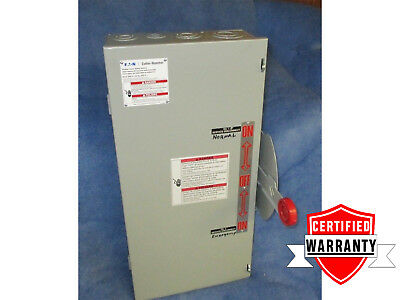 Transfer Eaton DT222UGK 60 Amp 240v Double Throw Switch 250v   2 Year Warrant
