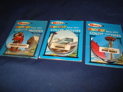 VINTAGE FINLEYS HOLIDAY 8mm 50 FT MOVIES 1960's