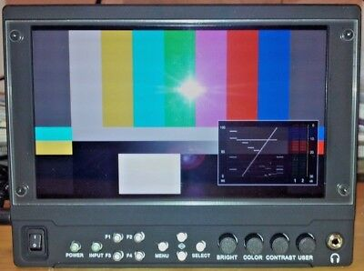 "Marshall V-LCD70MD-3G  SL 7"" Camera Top Monitor with MD-3GE 3G/HD/SDI Module"