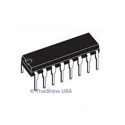 10 x 74HC595 8 bit Shift Register IC DIP-16 TEXAS - USA SELLER - Free Shipping
