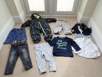 Baby Boy Next etc Shorts trousers shirts bundle 12 - 24  months sizes on photos