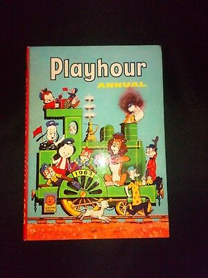 Playhour Annual 1963 Vintage/Retro Childrens Hardback Book Very Rare Year