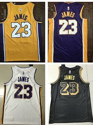 Canotta NBA basket maglia LeBron James 23 jersey Los Angeles Lakers S M L 98a935950c55