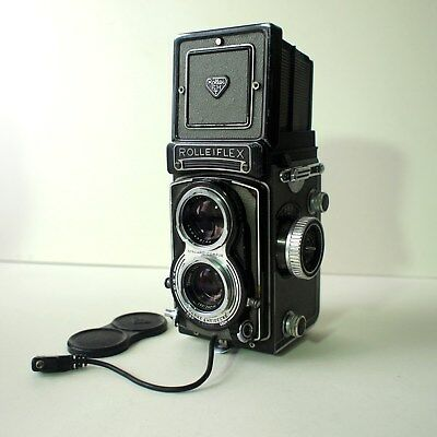 Rolleiflex T with Carl Zeiss Tessar Lens.  Spares or Repair