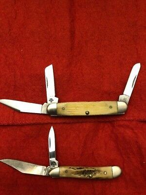 Casexx  Lot of 2 Used  Pocket Knives folding knife