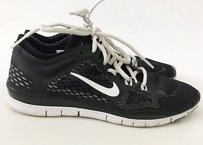 e3fba5245955 See Details. NIKE WOMEN S FREE 5.0 TR FIT 4 TRAINERS BLACK WHITE 629496 001  Sz 7 VGC