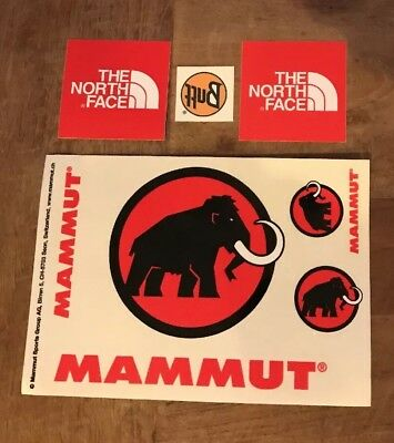 Mammut / The North Face / Buff - Decals Sticker Pack