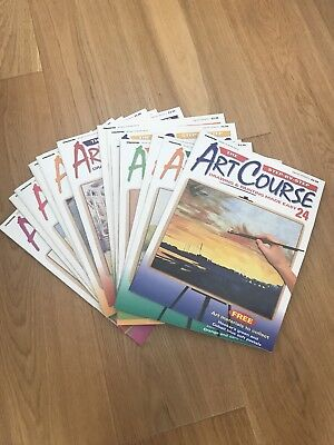 Deagostini Step By Step Art Course - Volumes 24-37
