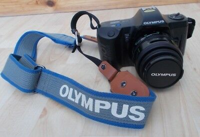 Olympus Om 101 Power Focus 35Mm Camera With Carrying Strap Photographic Item