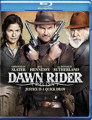 The Dawn Rider (Blu-ray Disc, 2012) NEW SEALED CHRISTIAN SLATER JILL HENNESSY!!!