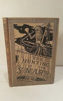 The hunting of the snark. Lewis Carroll. 1876. 1st edition. RARE EASTER LETTER!