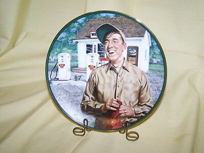 "Andy Griffith Show ""Surprise! Surprise!"" Plate - Gomer Pyle"