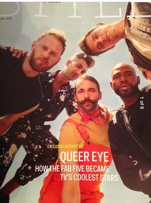 SUNDAY TIMES STYLE MAGAZINE NEW QUEER EYE FOR THE STRAIGHT GUY COVER 3rd JUNE 18