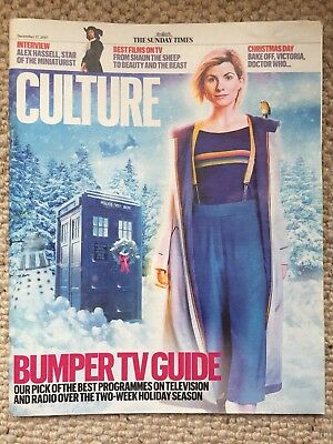 Sunday Times Culture Magazine Jodie Whittaker Cover New Dr Who