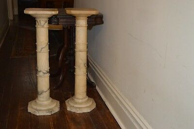 Antique Pillars Marble 19th century