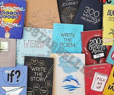 Brand New Creative Learning Journal Writing Prompt Book Booklet. YOU PICK!
