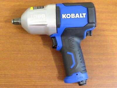 Kobalt SGY-AIR236 1/2-inch 1000-ft Air Impact Wrench *Tool Only* Ships Free! E