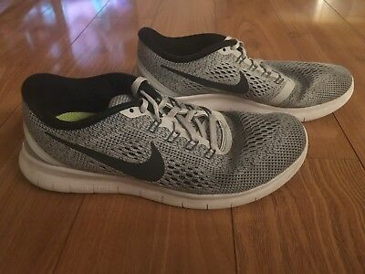 bae5352e0d62 NIKE FREE TR FIT 5 BLACK WHITE LIME WOMENS 7 EUC SUPERCLEAN see pics-details.