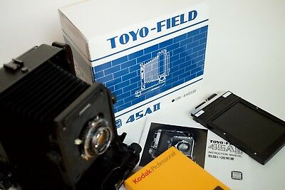 Toyo Field 45A II - 5x4 large format view camera, boxed