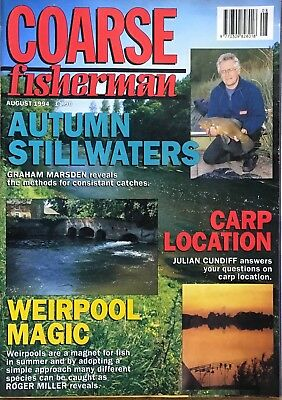 COARSE FISHERMAN - AUGUST 1994 - Tony Miles, Graeme Pullen, Dave Thorpe and more
