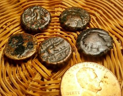 5 Ancient Greek Coins. #18 NO RESERVE