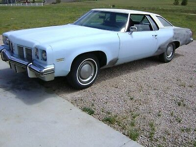 1975 Oldsmobile Eighty-Eight coupe 1975 Oldsmobile Delta 88 Coupe Good Running 455 TH400 Cold Air only 78430 Miles