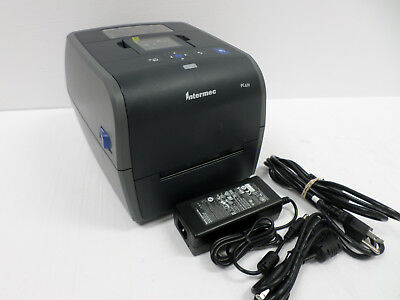 Intermec PC43t 203dpi USB Thermal Label Printer w AC Adapter PC43TA0010020 *SALE