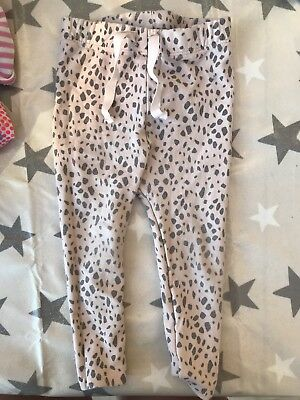 Girls Zara Leggings 9-12 Months