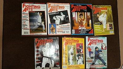 7 Martial Arts Magazines Terry O'Neill's Fighting Arts International