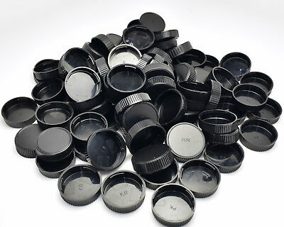 Unbranded Pentax K (PK) Mount Rear Lens Cap Lot Qty-80 (#T433)