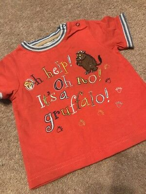 Baby Boy Gruffalo Top. 6-9 Months. Excellent Condition 💛