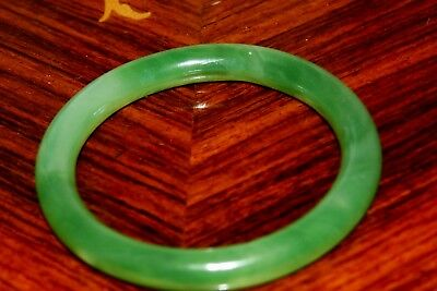 Fine Quality Chinese Natural Green Jade Bracelet