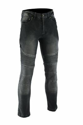 Motorbike Mens Jeans Motorcycle Denim Trouser with Armoured Protective pad Jean