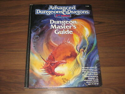 AD&D 2nd Edition Dungeon Masters Guide Hardcover 192 Seiten TSR 2100 englisch