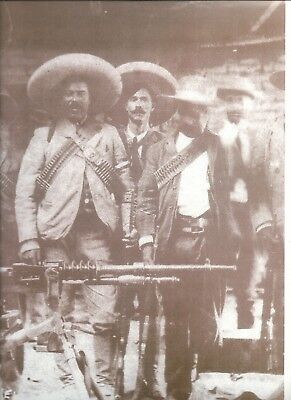 """Mexican Revolution Pancho Villa 2 Posters,Approx. Size: 9.5"""" x 13.5"""""""