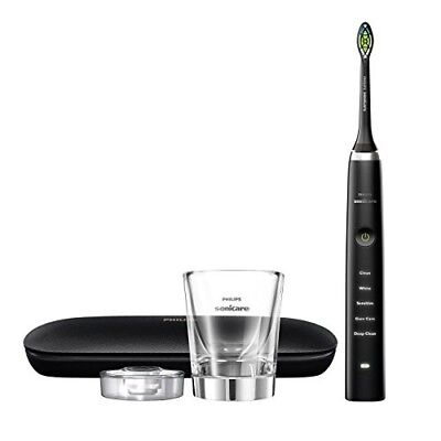 Philips Sonicare Diamond Clean Classic Electric Toothbrush HX9351/57,Black w/ pr