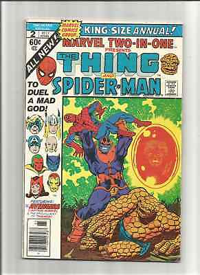 Marvel Two-In-One Annual #2 (Dec 1977, Marvel) DEATH OF THANOS