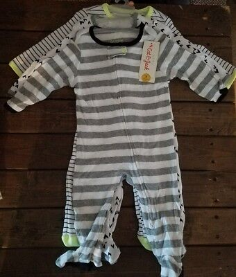 3 Cat & Jack Baby Boy Sleeper Outfits 2 Piece 6-9 Months NWT