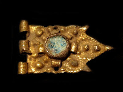 Beautiful Late Byzantine Silver Gilt Mount Decoration Applique+++