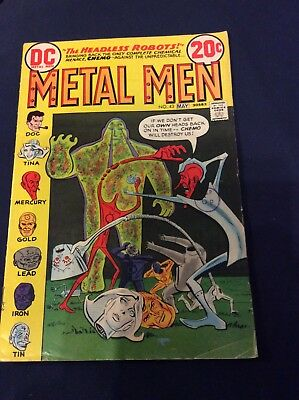 METAL MEN #43 May 1970 featuring Chemo