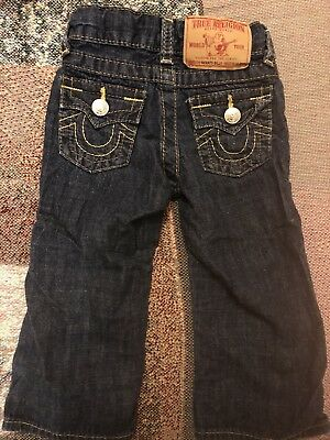 Baby Girl Size 12-18 Months True religion Jeans, EUC!