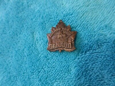 Ww1 Canadian Generic Cap Badge Roden Bros.