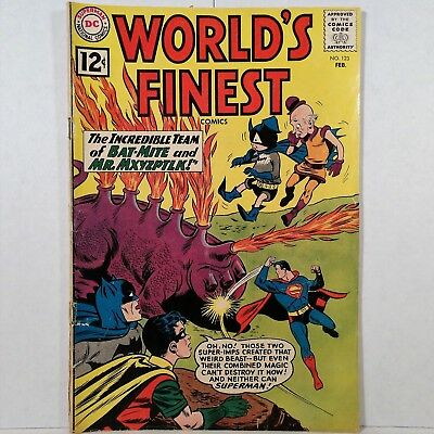World's Finest Comics - No. 123 - DC Nat'l Comics Inc. - Feb. 1962 - No Reserve!