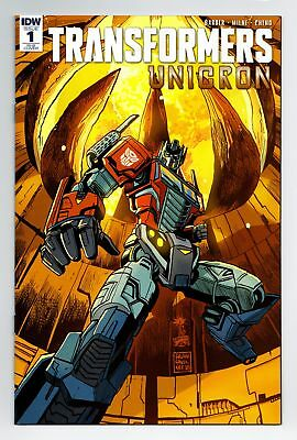 Transformers Unicron #1 1:25 Francavilla Variant Bagged Boarded Idw Comics Nm
