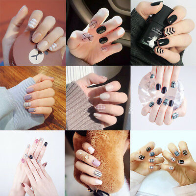 Artificial Nail Tips 2012 New Series 24 Pcs Dew Drop Metallic False Full Nail Tips 203-1 Bronze High Quality And Inexpensive Health & Beauty