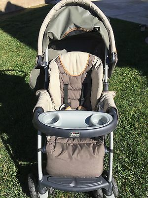 Chicco Keyfit 30 Infant Car Seat with Base and Infant/Toddler Stroller