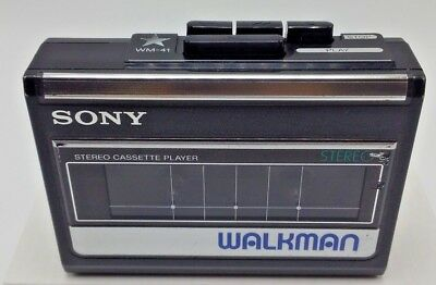 Vintage SONY Walkman WM-31/32/41 Stereo Cassette Player - 13 REASONS WHY - WORKS